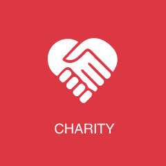 Case Studies - Charity Icon