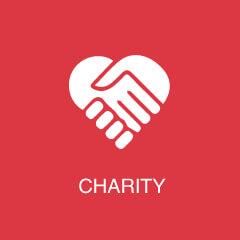 Case Studies - Charity Icon