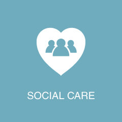 Case Studies - Social Care Icon
