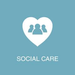 Case Studies - Social Care Icon